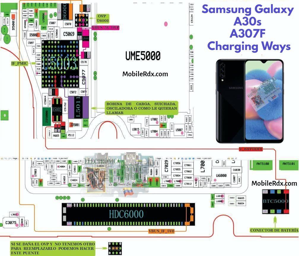Samsung Galaxy A30s Charging Ways   Repair Not Charging Problem