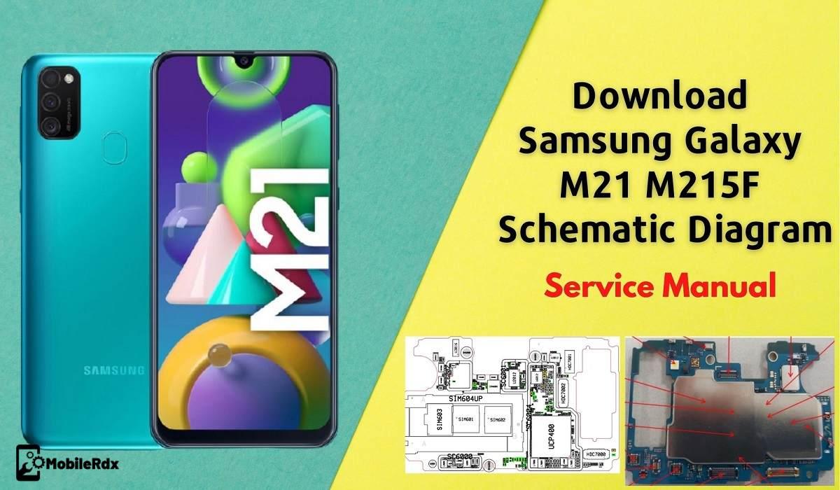 Download Samsung Galaxy M21 Schematics Diagram   Service Manual