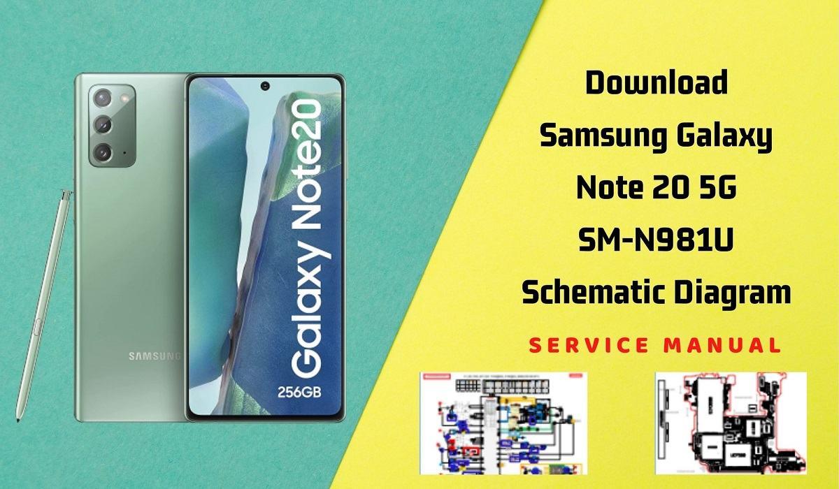 Download Samsung Galaxy Note 20 5G Schematic   Service Manual