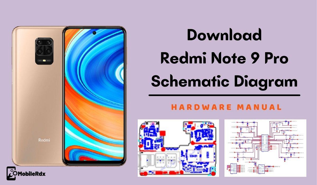 Redmi Note 9 Pro Schematic Diagram   Service Manual