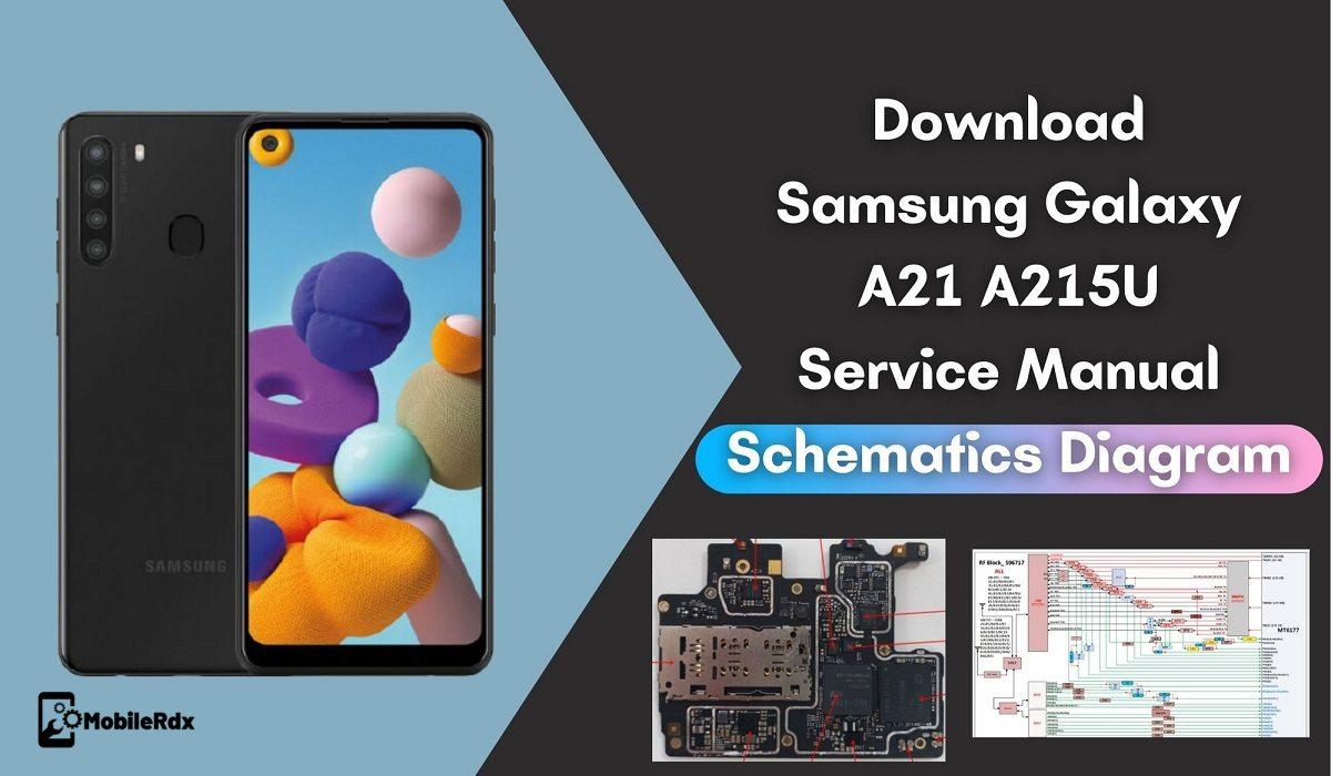 Samsung Galaxy A21 A215U Service Manual Schematics