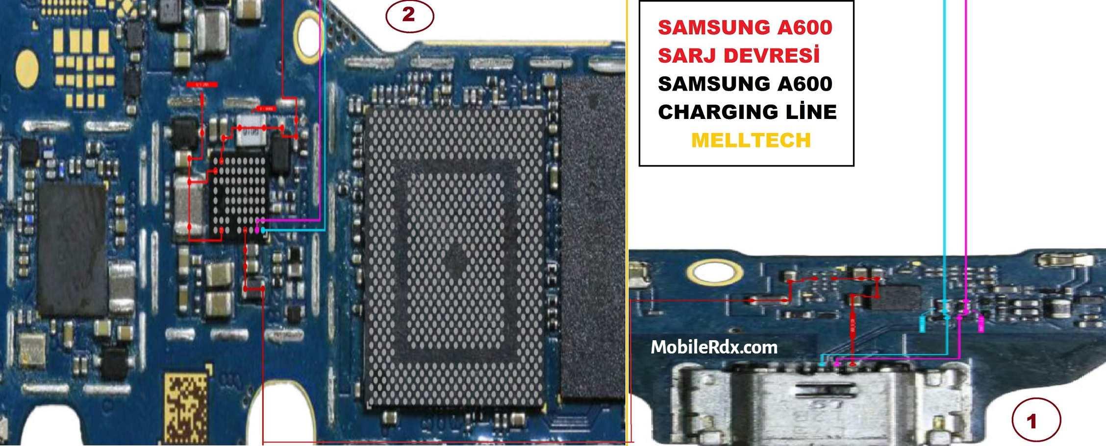 Samsung Galaxy A6 Charging Problem Ways   USB Jumper
