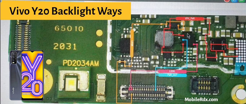 Vivo Y20 Display Light Problem Solution LCD Backlight Ways