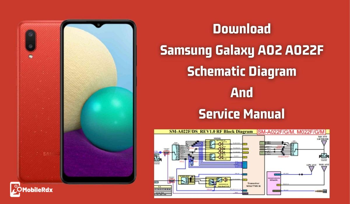 Download Samsung Galaxy A02 A022F Schematic And Service Manual