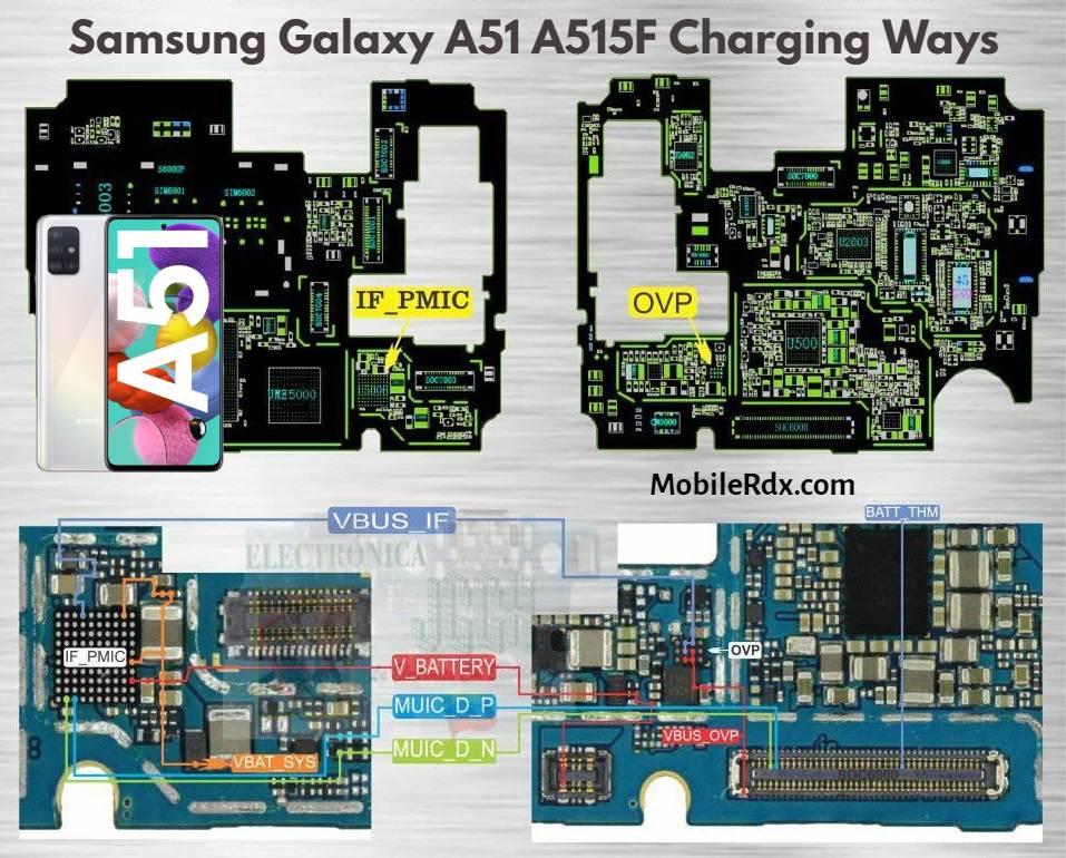 Repair Samsung Galaxy A51 Not Charging Problems   Charging Ways