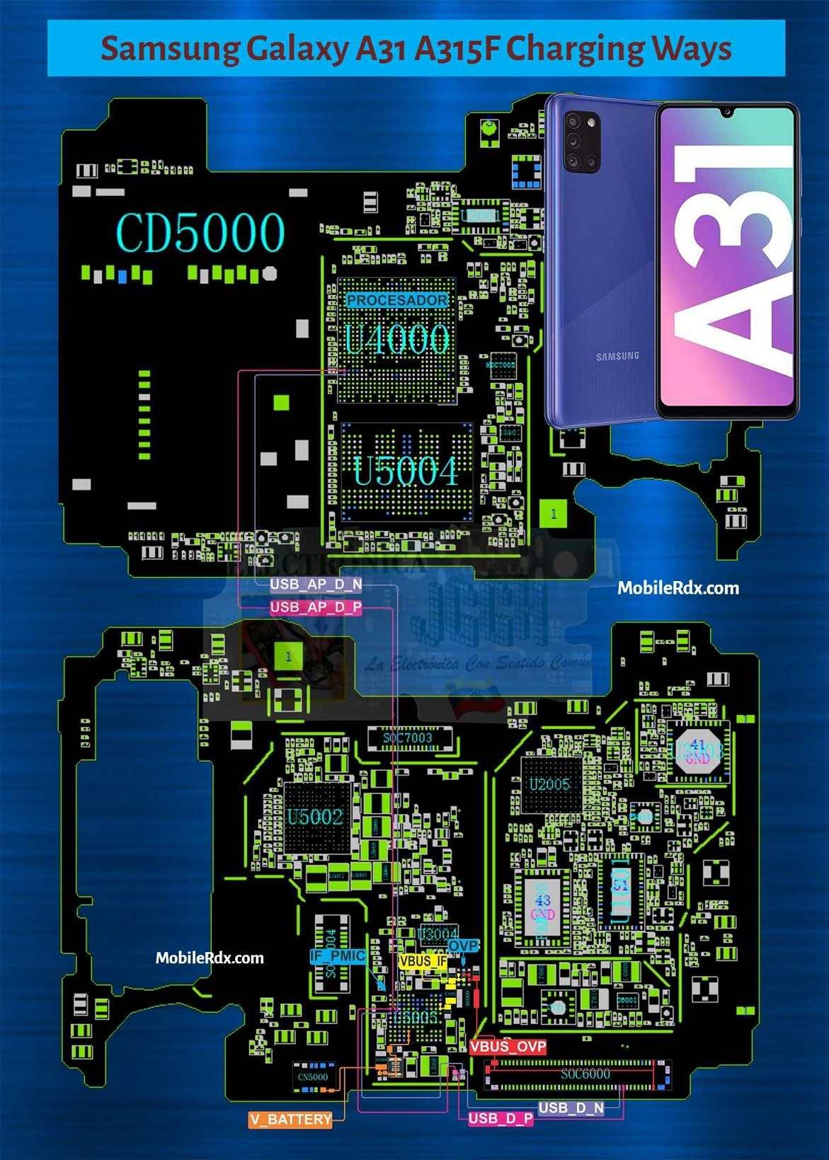Samsung Galaxy A31 Charging Ways   Charging Problem Solution