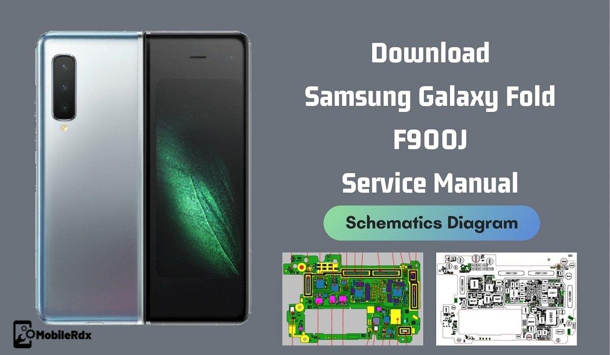 Download Samsung Galaxy Fold Service Manual Schematics Diagram